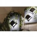 Lámpara pared LED para exterior Bu-Oh metal gris oscuro