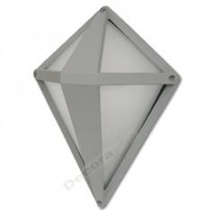 Lámpara aplique pared Lágrima zinc exteriores diseño moderno