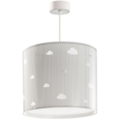 Lámpara techo infantil Sweet Dreams gris con nubes blancas