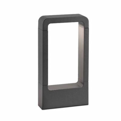 Lámpara exterior baliza gris Das LED gris oscuro