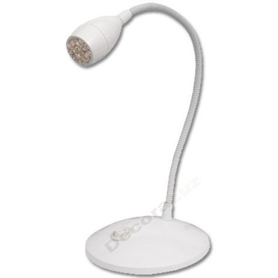 Flexo Cuarzo brazo orientable bombillas leds color blanco