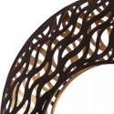 Lámpara de sobremesa decorativa metal bronce