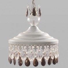 Lámpara colgante Demetria acabado blanco