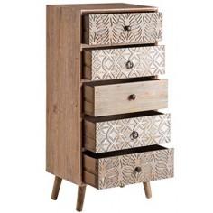 Sinfonier colección Bali en madera tallada