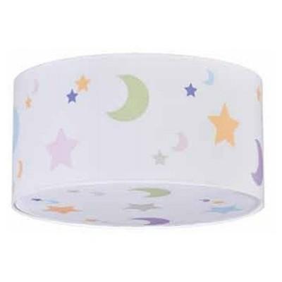 Plafon infantil estrellas y lunas