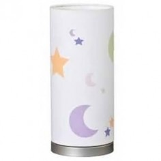 Lampara infantil con estrellas y lunas mesita de noche