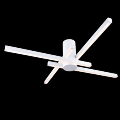 Lampara de techo moderna blanca