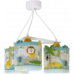 Lampara de techo 3 luces My Little Jungle