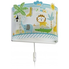 Aplique de pared infantil coleccion My Little Jungle