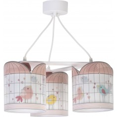 Colgante infantil 3 luces coleccion little birds
