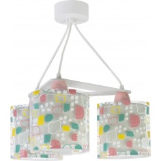 lampara infantil de 3 luces coleccion secrets