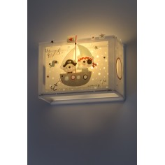 Aplique de pared infantil coleccion The pirates