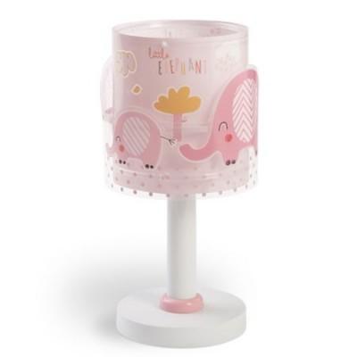 Lámpara infantil sobremesa Dalber 61331S Little Elephant rosa