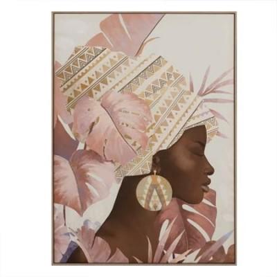 Cuadro en lienzo de impresión Africana