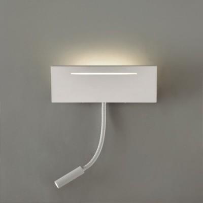 Aplique de led con luz adicional para lectura