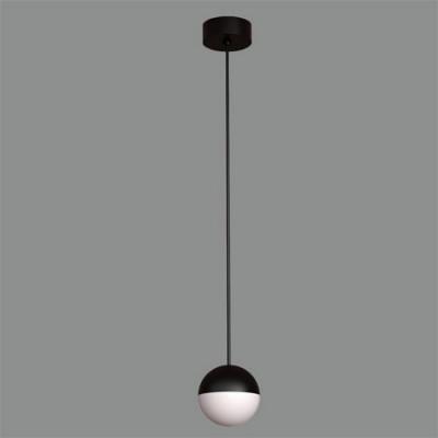 Lámpara colgante de Led con acabado en negro texturizado