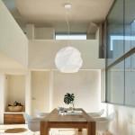 Lámpara colgante moderna Esfera con acabado en color blanco