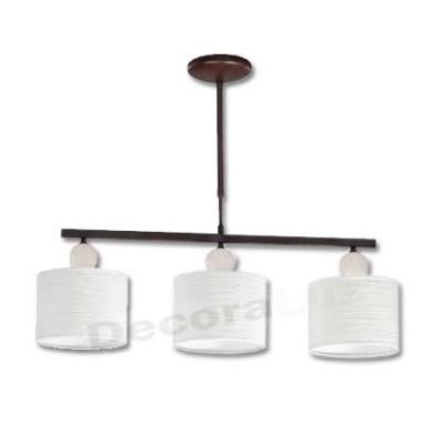 Lámpara moderna bolas cerámica pantallas blanco textura