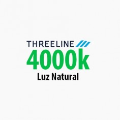 Foco mini downlight cuadrado basculante Threeline 7w 4000k