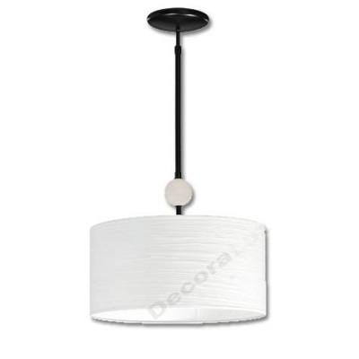Lámpara colgante moderno Ceramic bola cerámica pantalla blanca