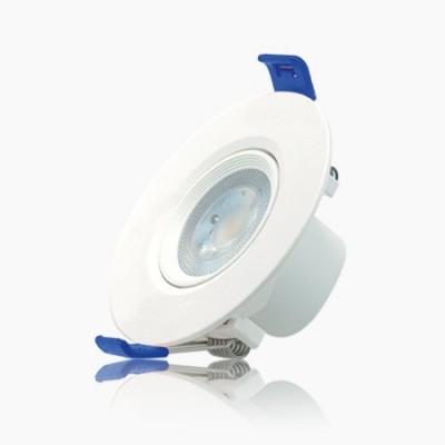 Foco de Led mini downlight luz cálida 2700k color blanco