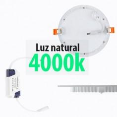 Downlight extrafino LED con 18w y luz natural 4000k