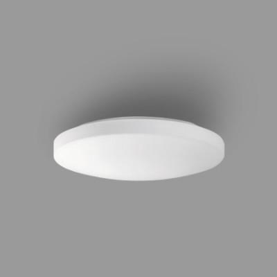 Plafón color opal de LED 36w con cristal de doble capa