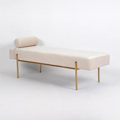 Sofá diván tapizado de terciopelo...
