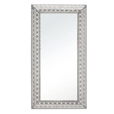 Espejo rectangular de metal con...