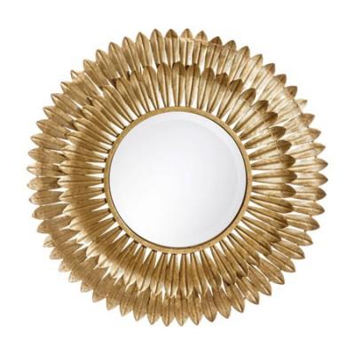 Espejo fabricado en metal con acabado...