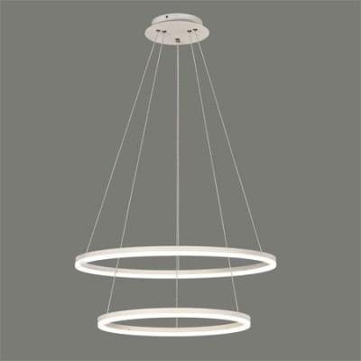 Lámpara de techo LED con doble anillo...