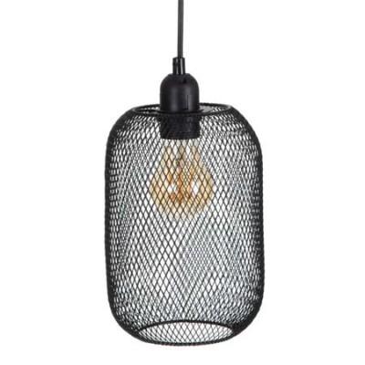 Lámpara colgante de techo en color negro