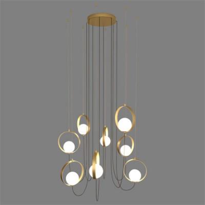 Lámpara de 8 luces de LED para techo...