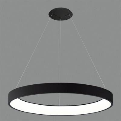 Lámpara de LED grande circular en...