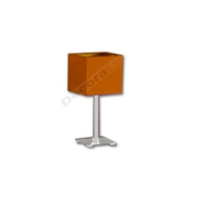 Sobremesa estilo actual cromo pantalla cubo color naranja