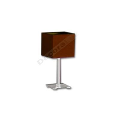 Sobremesa estilo moderno pantalla estructura cúbica marrón