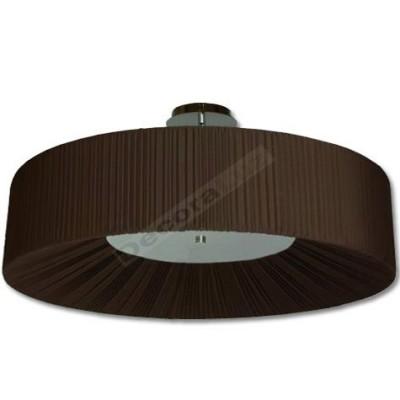 Semiplafón grande moderno pantalla estilo actual marrón