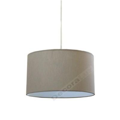 Lámpara colgante básico estilo moderno color marrón
