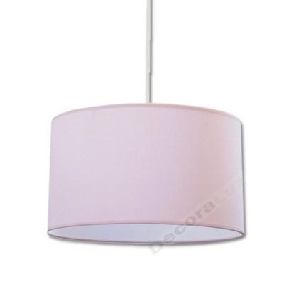 Colgante estilo moderno forma básica pantalla color rosa