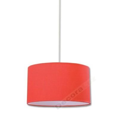 Colgante color rojo forma básico diseño moderno