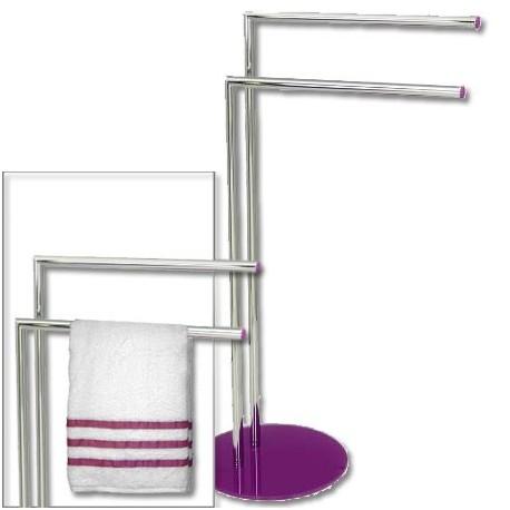 Comprar toallero dise o actual cromado metal detalles - Toallero cromado para bano ...