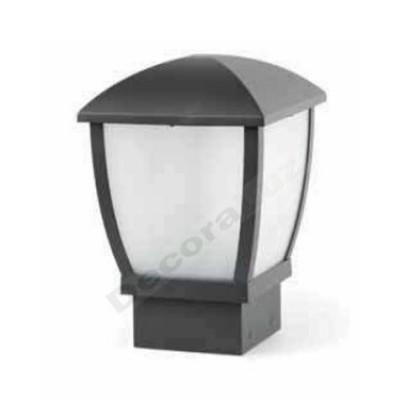 Lámpara sobremuro gris oscuro estilo moderno clásico