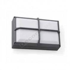 Aplique pared moderno color gris oscuro equipo incluído