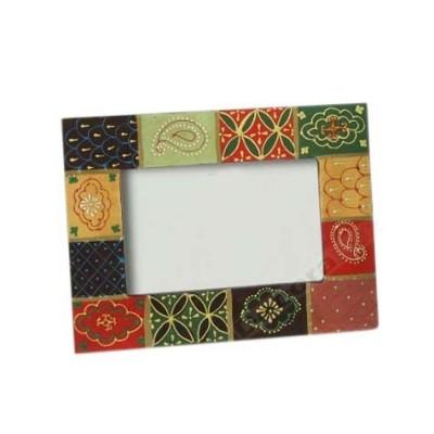 Portafotos estilo actual fabricado madera varios colores