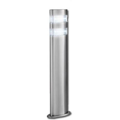 Baliza vertical exterior acero inoxidable LED 45cm