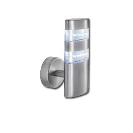Comprar baliza aplique exterior acero inoxidable led for Aplique exterior led
