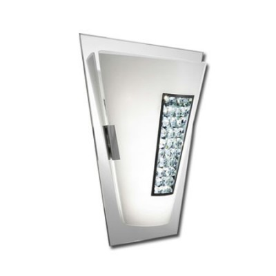 Aplique de pared cristal espejo tecnologia LED