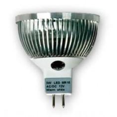 Bombilla dicróica LED epistar 5w cálida