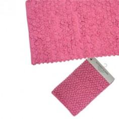 Conjunto dos alfombras de baño rosa 70x45cm