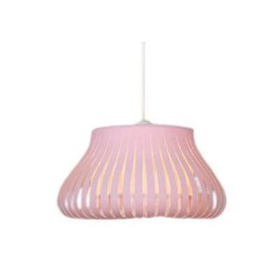 Lámpara colgante infantil rosa colección blur